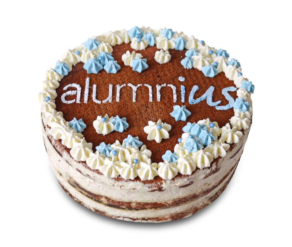 Die Geschichte hinter der alumni<em>us</em>-Torte