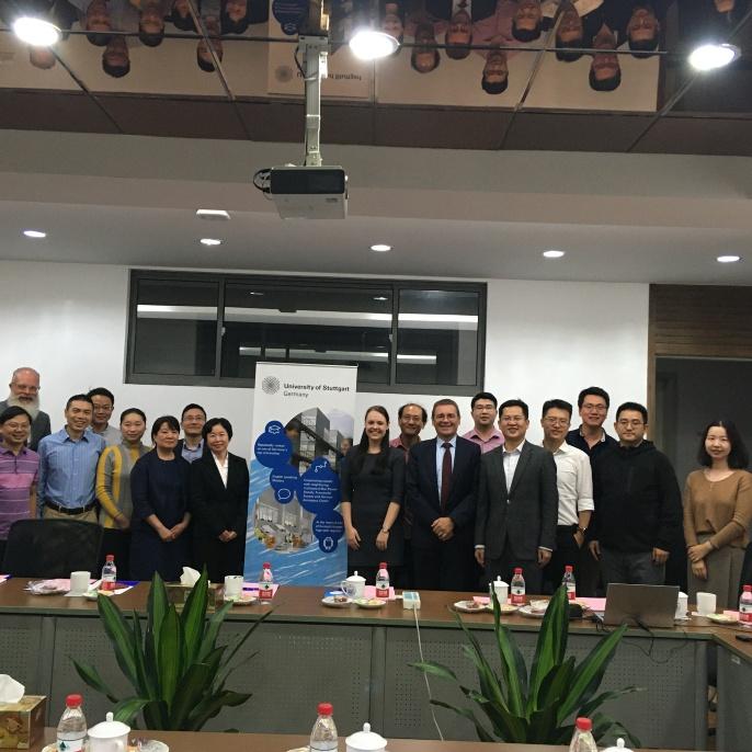 Alumni-Treffen in Shanghai
